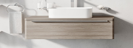Koupelnový nábytek Sud - skříňky po umyvadla na desku