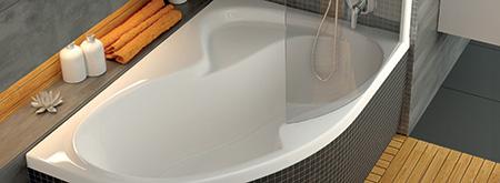 Asimetriškos vonios RAVAK